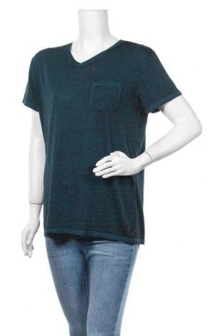 Γυναικείο t-shirt Liberto, Μέγεθος L, Χρώμα Μπλέ, Τιμή 8,77€