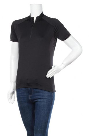 Дамска тениска Loffler, Размер M, Цвят Черен, Цена 16,07лв.