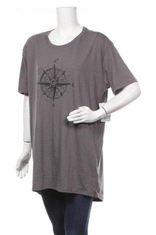 Дамска тениска LulaRoe, Размер XL, Цвят Сив, 50% памук, 50% полиестер, Цена 28,56лв.