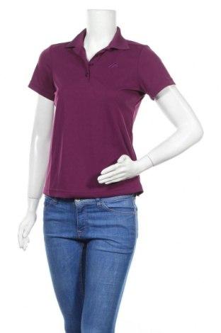 Дамска тениска Maier Sports, Размер S, Цвят Лилав, Полиестер, Цена 19,11лв.