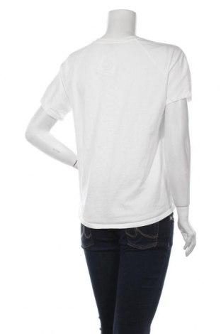 Дамска тениска Massimo Dutti, Размер M, Цвят Бял, Памук, Цена 19,60лв.