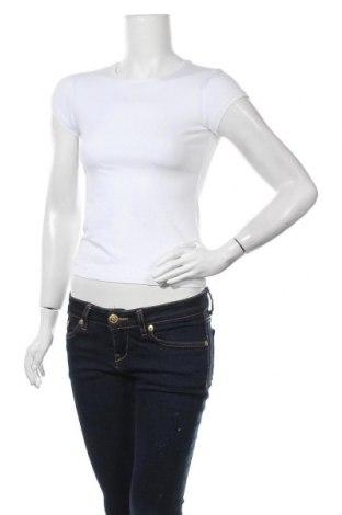 Дамска тениска Massimo Dutti, Размер XS, Цвят Бял, 92% памук, 8% еластан, Цена 35,70лв.