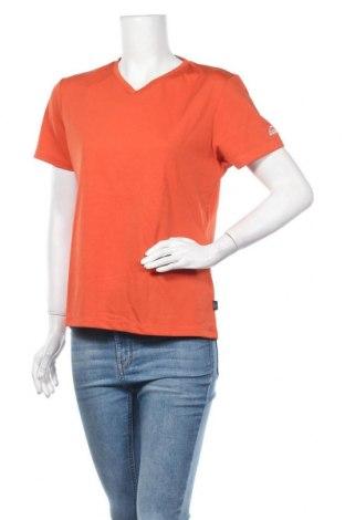 Γυναικείο t-shirt McKinley, Μέγεθος XL, Χρώμα Πορτοκαλί, 50% βαμβάκι, 50% πολυεστέρας, Τιμή 3,86€