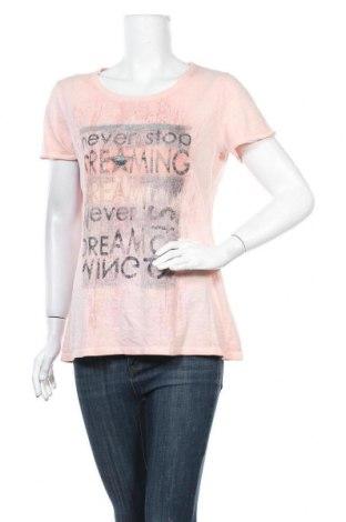 Γυναικείο t-shirt Monari, Μέγεθος L, Χρώμα Ρόζ , Τιμή 12,14€