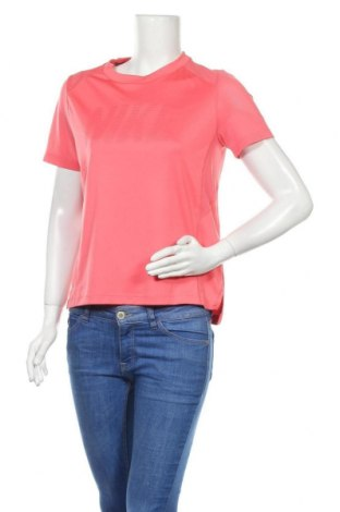 Дамска тениска Nike Running, Размер M, Цвят Розов, Полиестер, Цена 21,00лв.
