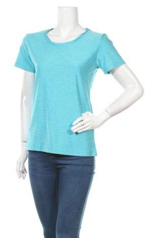 Дамска тениска Ninomaxx, Размер XL, Цвят Син, 92% полиестер, 8% еластан, Цена 13,39лв.