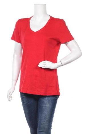 Дамска тениска Now, Размер XXL, Цвят Червен, Памук, Цена 9,24лв.