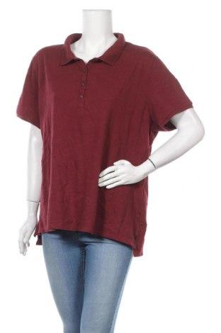 Дамска тениска Old Navy, Размер XXL, Цвят Червен, 97% памук, 3% еластан, Цена 10,92лв.