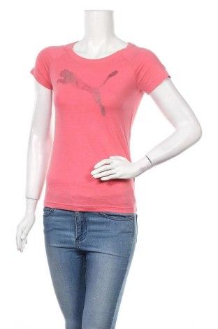 Дамска тениска PUMA, Размер S, Цвят Розов, Памук, Цена 21,00лв.
