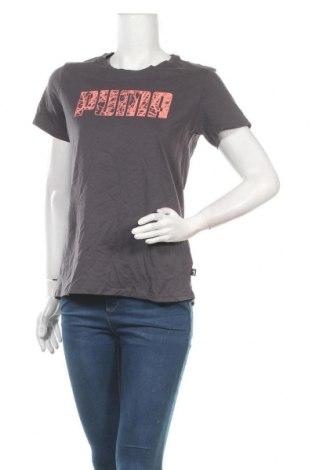 Дамска тениска PUMA, Размер M, Цвят Сив, Памук, Цена 48,75лв.