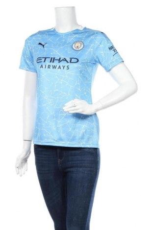 Γυναικείο t-shirt PUMA, Μέγεθος S, Χρώμα Μπλέ, Πολυεστέρας, Τιμή 22,96€