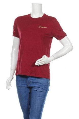 Дамска тениска Pieces, Размер M, Цвят Червен, Цена 8,82лв.