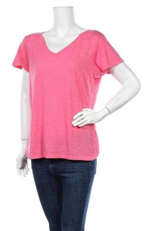 Дамска тениска Primark, Размер L, Цвят Розов, 65% полиестер, 35% памук, Цена 11,81лв.