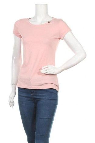 Дамска тениска Ragwear, Размер XS, Цвят Розов, 50% памук, 50% полиестер, Цена 17,85лв.
