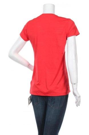 Дамска тениска Reebok, Размер L, Цвят Червен, Полиамид, еластан, Цена 15,60лв.