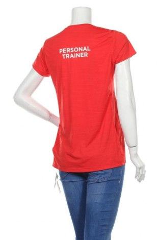 Дамска тениска Reebok, Размер L, Цвят Червен, 84% полиамид, 16% еластан, Цена 14,82лв.