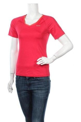 Дамска тениска Reebok, Размер M, Цвят Розов, 88% полиестер, 12% еластан, Цена 16,07лв.