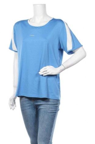 Дамска тениска Rodeo, Размер XXL, Цвят Син, 91% полиестер, 9% еластан, Цена 10,92лв.