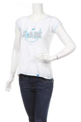 Дамска тениска Swiss Made, Размер M, Цвят Бял, Памук, Цена 7,35лв.