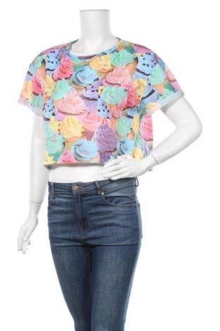 Дамска тениска Supre, Размер XL, Цвят Многоцветен, Полиестер, Цена 16,07лв.