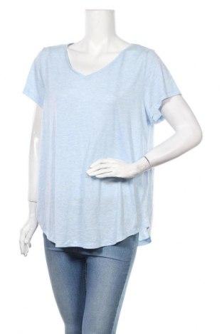 Дамска тениска Sussan, Размер XL, Цвят Син, 65% полиестер, 35% вискоза, Цена 12,60лв.