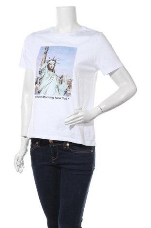 Дамска тениска Tally Weijl, Размер S, Цвят Бял, Памук, Цена 12,60лв.