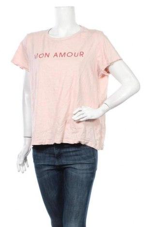 Дамска тениска Target, Размер XXL, Цвят Розов, Памук, Цена 4,73лв.