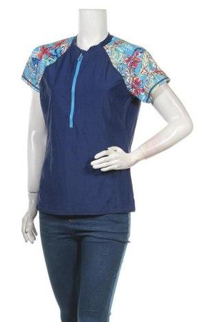Дамска тениска Target, Размер XL, Цвят Син, Полиамид, еластан, Цена 17,01лв.