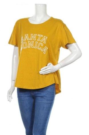 Дамска тениска Target, Размер XL, Цвят Жълт, Памук, Цена 15,96лв.
