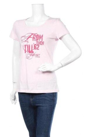 Дамска тениска Tom Tailor, Размер L, Цвят Розов, Памук, Цена 11,76лв.