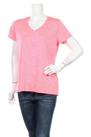 Γυναικείο t-shirt Under Armour, Μέγεθος L, Χρώμα Ρόζ , Πολυεστέρας, Τιμή 10,13€