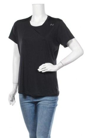 Дамска тениска Under Armour, Размер XL, Цвят Черен, Цена 24,57лв.
