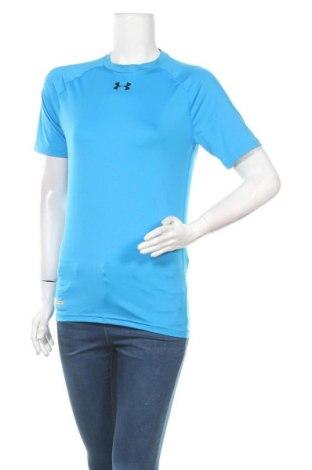 Дамска тениска Under Armour, Размер L, Цвят Син, Цена 21,84лв.