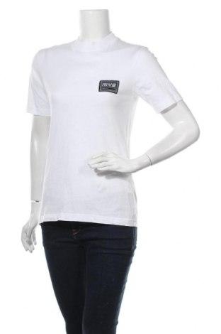 Дамска тениска Versace Jeans, Размер M, Цвят Бял, Памук, Цена 126,75лв.