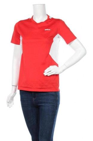 Дамска тениска Wilson, Размер XL, Цвят Червен, Полиестер, Цена 4,54лв.