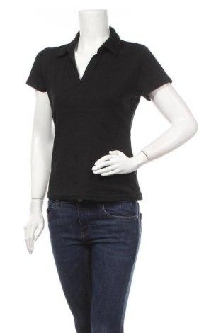 Γυναικείο t-shirt Yessica, Μέγεθος M, Χρώμα Μαύρο, Τιμή 10,39€