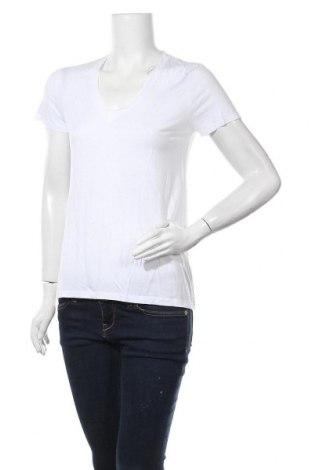 Дамска тениска Zara, Размер M, Цвят Бял, Цена 10,50лв.