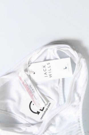 Дамски бански Jack Wills, Размер XS, Цвят Бял, 95% полиамид, 5% еластан, Цена 12,87лв.