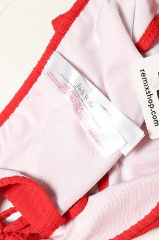 Дамски бански Jack Wills, Размер L, Цвят Червен, 90% полиестер, 10% еластан, Цена 14,40лв.