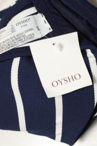 Дамски бански Oysho, Размер S, Цвят Син, Полиестер, Цена 19,80лв.