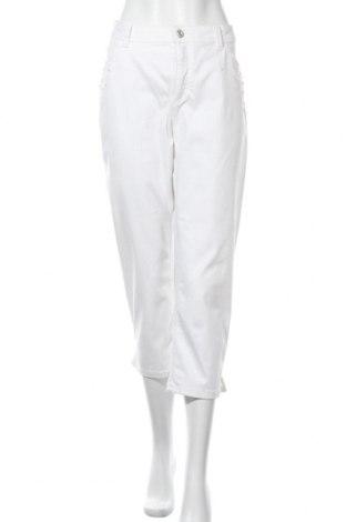 Дамски дънки Bonita, Размер XL, Цвят Бял, 60% памук, 24% полиестер, 13% вискоза, 3% еластан, Цена 16,91лв.