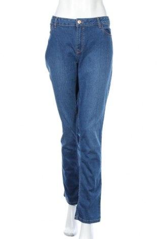 Дамски дънки C&A, Размер XL, Цвят Син, Цена 20,48лв.