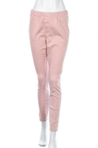Дамски дънки C&A, Размер M, Цвят Розов, 98% памук, 2% еластан, Цена 18,48лв.