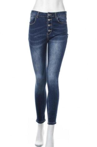 Дамски дънки Chicoree, Размер M, Цвят Син, 70% памук, 27% полиестер, 3% еластан, Цена 19,11лв.