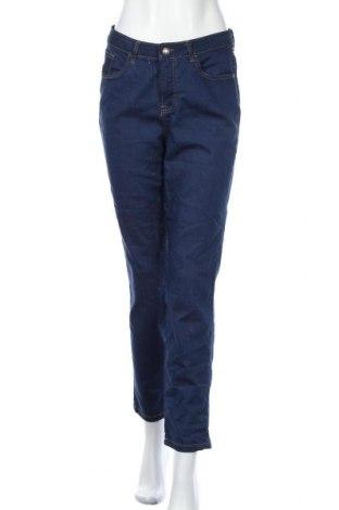 Дамски дънки Collection L, Размер M, Цвят Син, 81% памук, 17% полиестер, 2% еластан, Цена 23,10лв.