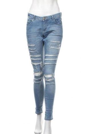 Дамски дънки Denim Co, Размер M, Цвят Син, 98% памук, 2% еластан, Цена 24,99лв.