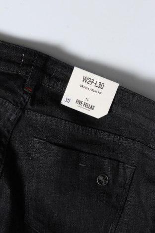 Дамски дънки Five Fellas, Размер S, Цвят Син, 92% памук, 6% други тъкани, 2% еластан, Цена 108,36лв.