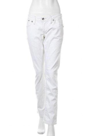 Дамски дънки G-Star Raw, Размер XL, Цвят Екрю, 98% памук, 2% еластан, Цена 38,59лв.