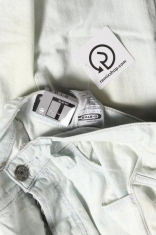 Дамски дънки G-Star Raw, Размер L, Цвят Син, 99% памук, 1% еластан, Цена 29,85лв.