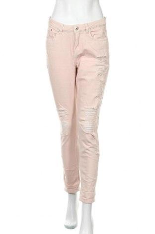 Дамски дънки H&M Divided, Размер S, Цвят Розов, Памук, Цена 21,70лв.